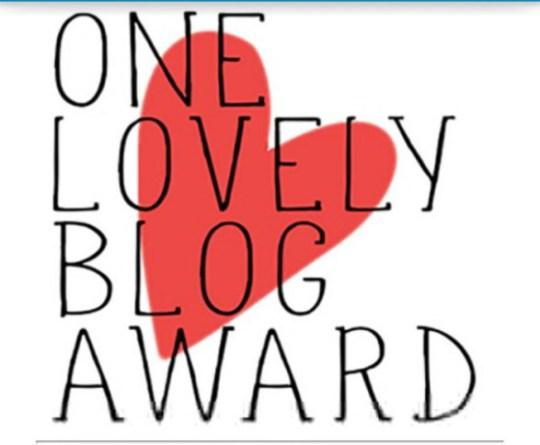 LovelyBlogAward